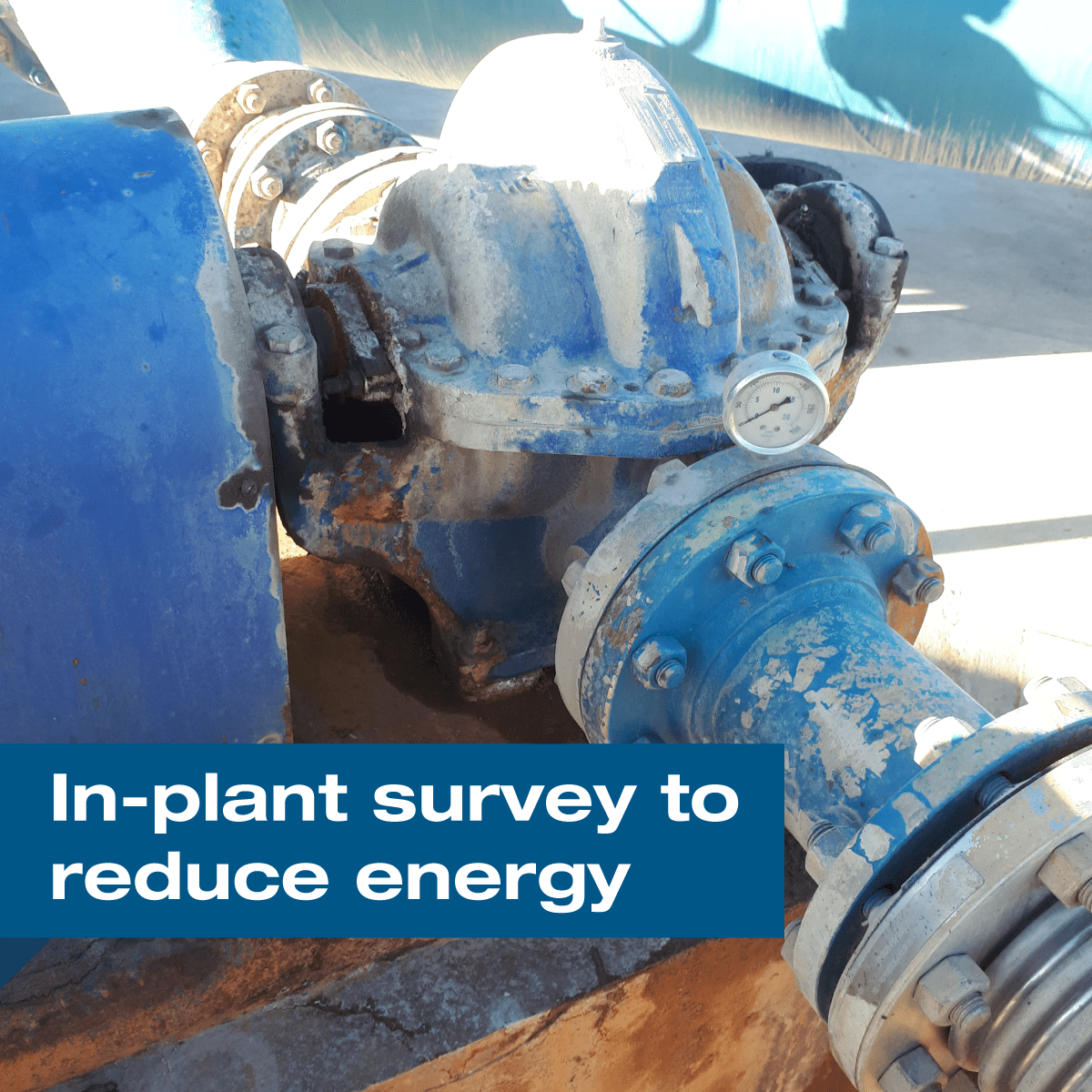 How to Conduct an In-Plant Pumping System Survey to Reduce Energy Consumption?