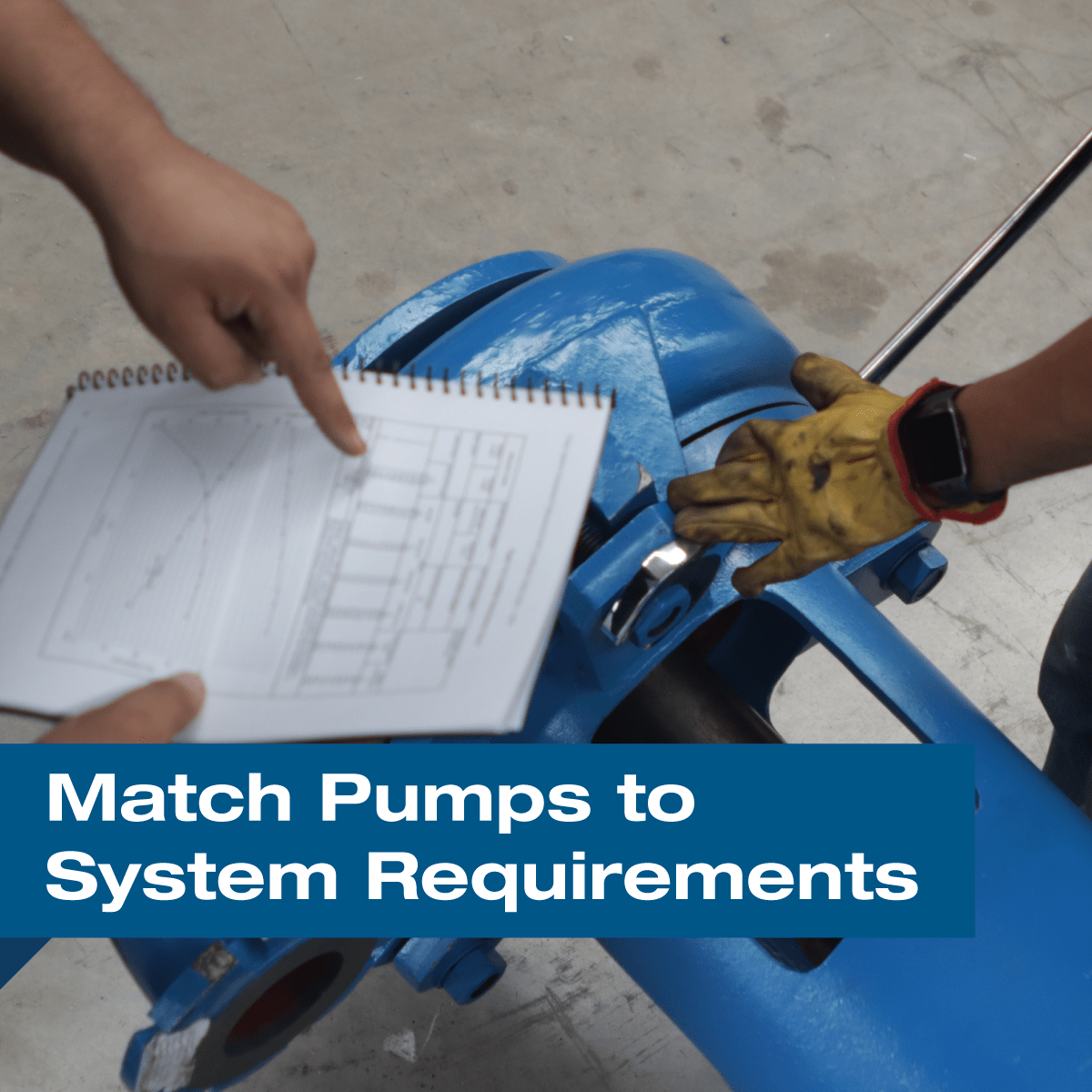 How To Match Pumps to System Requirements for Reduced Energy Consumption?