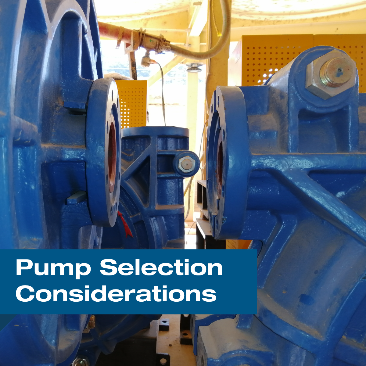 Pump Selection Considerations for Reducing Energy Consumption