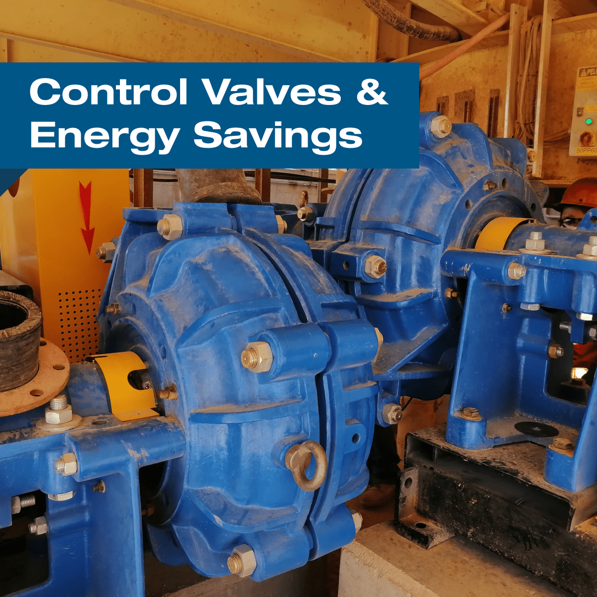 Energy Savings Opportunities in Control Valves, Reduced Energy Consumption